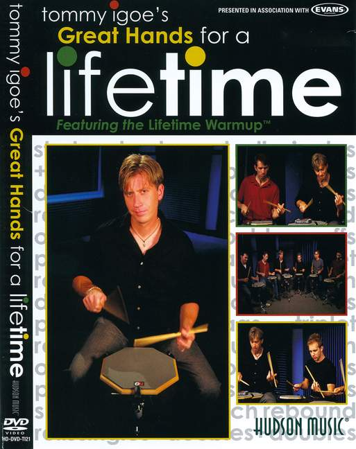 Great-Hands-For-A-Lifetime-Featuring-The-Lifetime-Warmup-Igoe-Tommy-DVD-drums